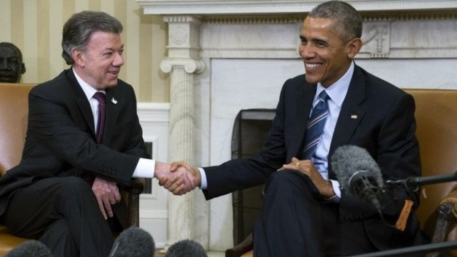 أوباما وسانتوس