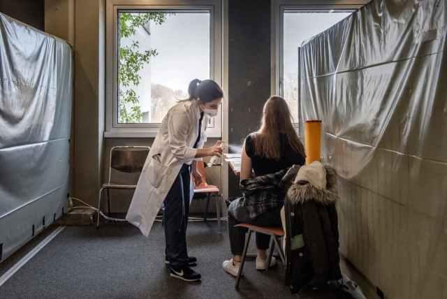 تلقيح العاملين الطبيين في مستشفيات ميونيخ