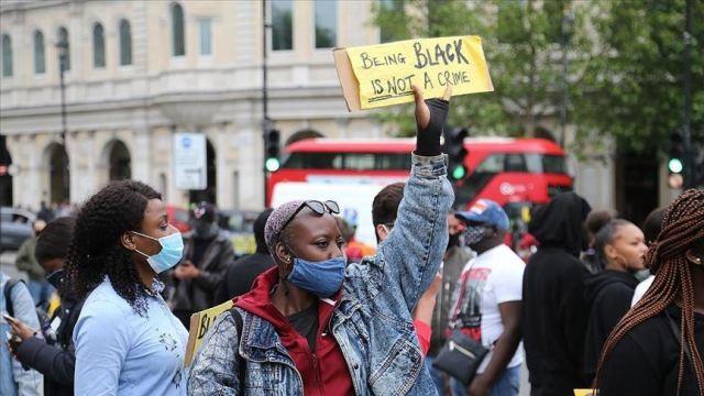 مسيرات حياة السود مهمة في بريطانيا
