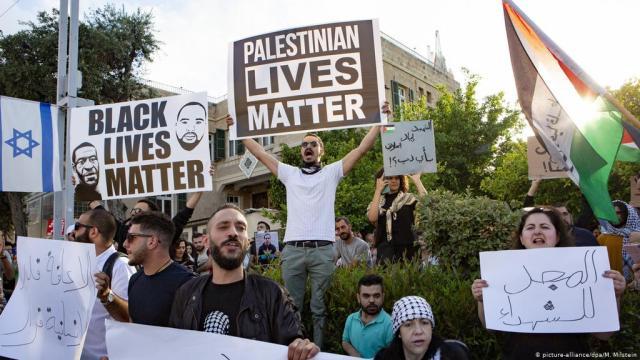 حياة السود مهمة وفلسطين