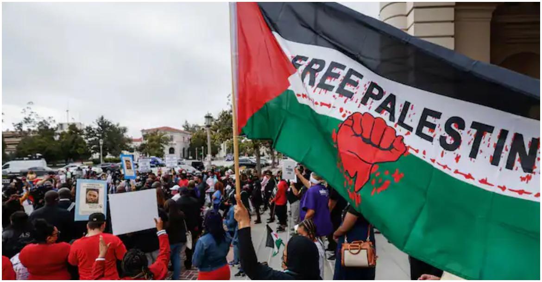 فلسطين امريكا