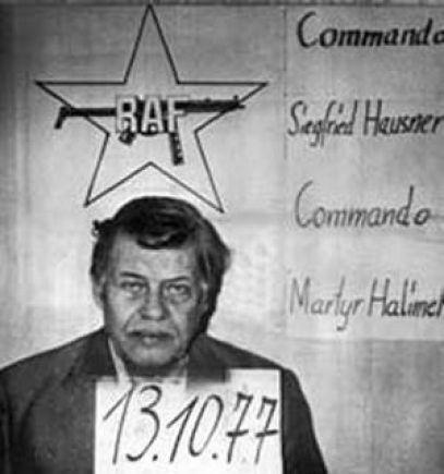 هانز مارتن شلاير أثناء اختطافه