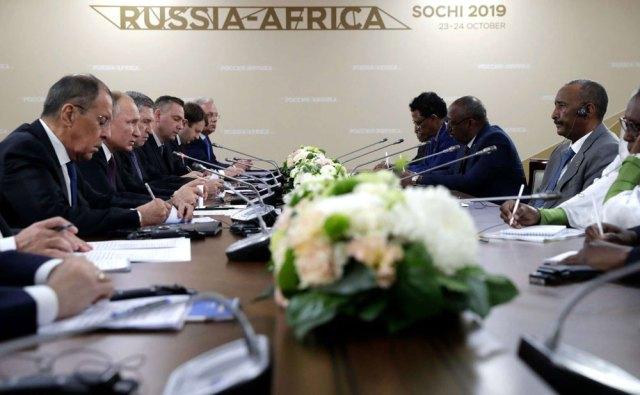 المناقشات السودانية الروسية