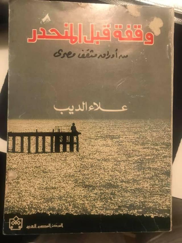 وقفة قبل المنحدر علاء الديب