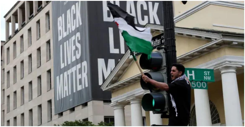 مظاهرات دعم فلسطين