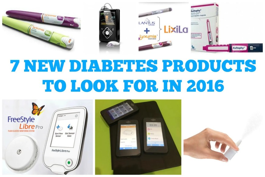 7 New Diabetes Products to Look for in 2016