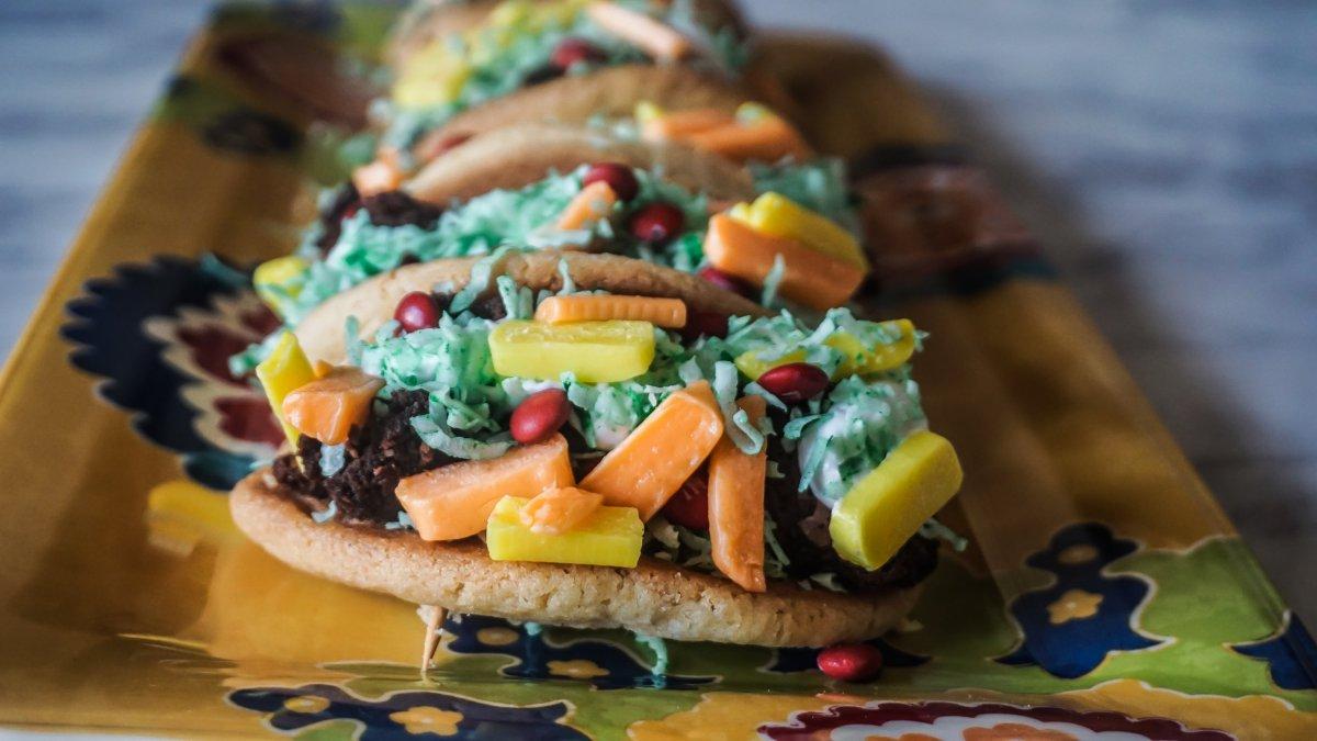 Cookie Tacos