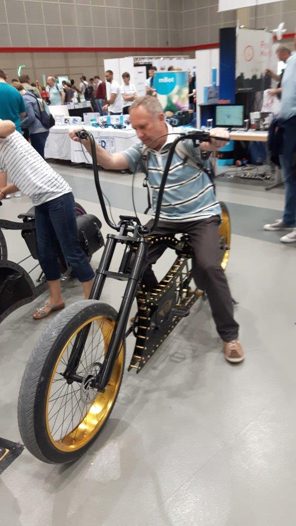 E-Bike - MakerFaire 2016 Hannover