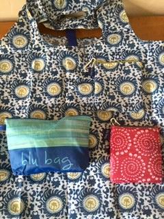 Blu Bags by RockFlowerPaper
