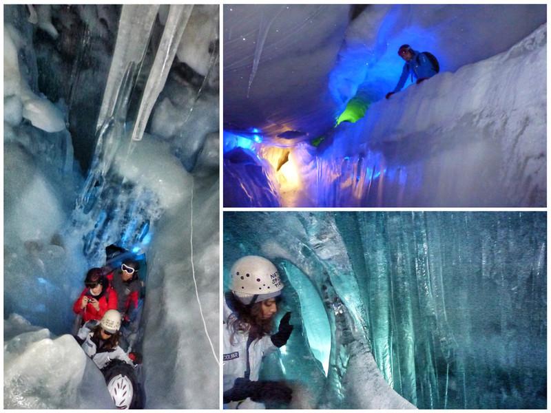 Hintertux Glacier Ice Palace
