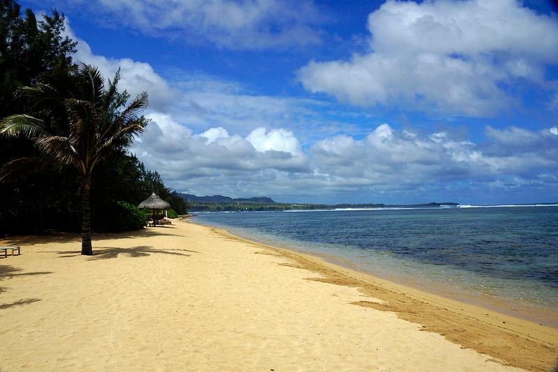 Beach at Mauritius - Ile Aux Cerfs