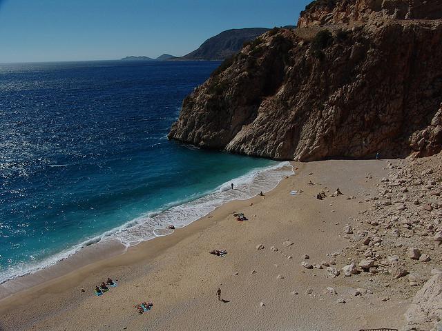 Kas, Turkey pebble Beach