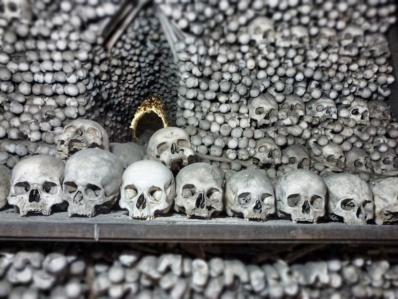bone heaps