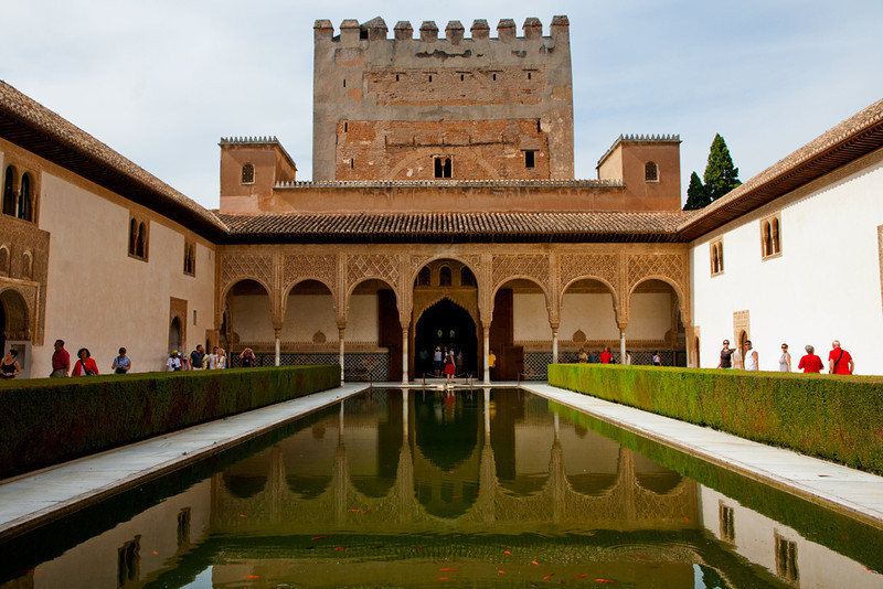 Granada, The Alhambra Palace