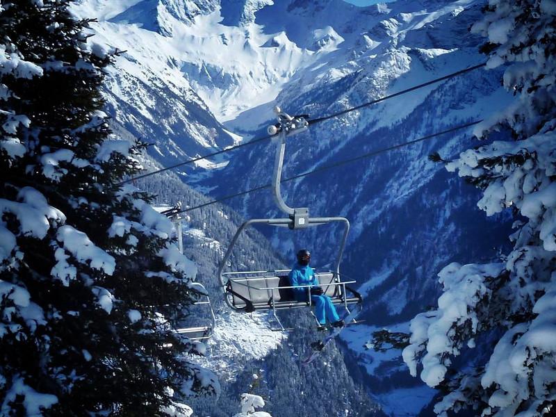 Skiing in Zillertal Austria