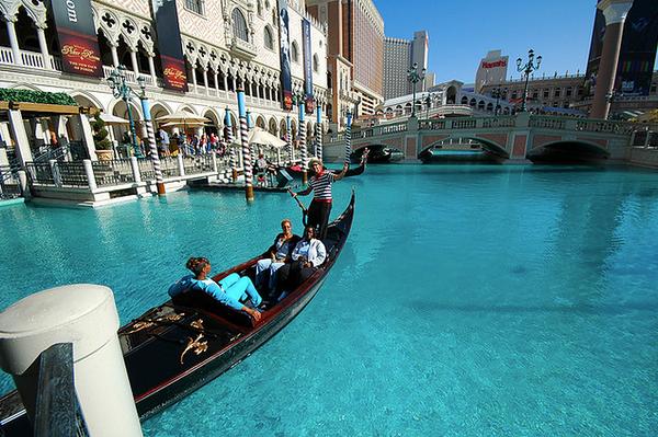 Venice Gondola in Las Vegas