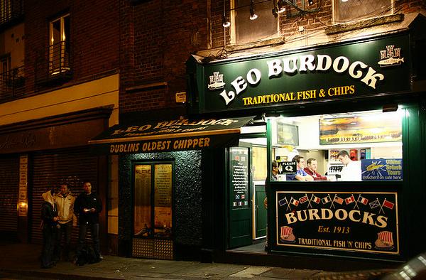 famous Fish n Chip shop Leo Burdock