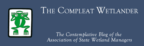 The Compleat Wetlander: The Contemplative Blog of the Association of State Wetland Managers