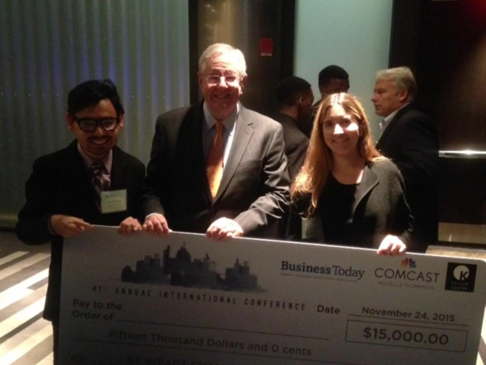 Winner of 2015 Business Today Impact Challenge