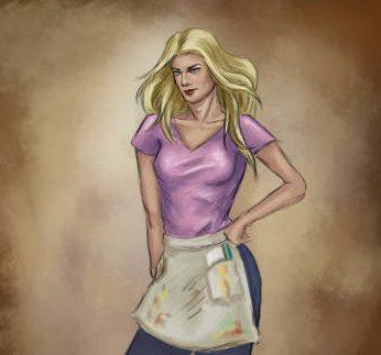 Character Art by Lucy Zhu Ashley
