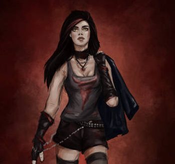 Character Art for Samantha by Lucy Zhu for Bloodlines