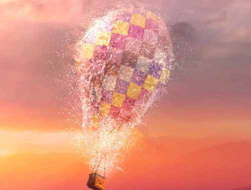 Writing prompt Jan 30 2020 hot air balloon