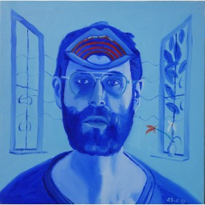 Charnley Self Portrait series 10