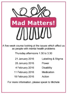 Mad Matters flyer