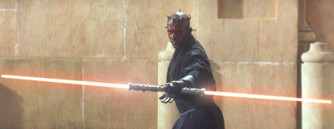 Red lightsabers are always red flags. Copyright Twentieth Century Fox.