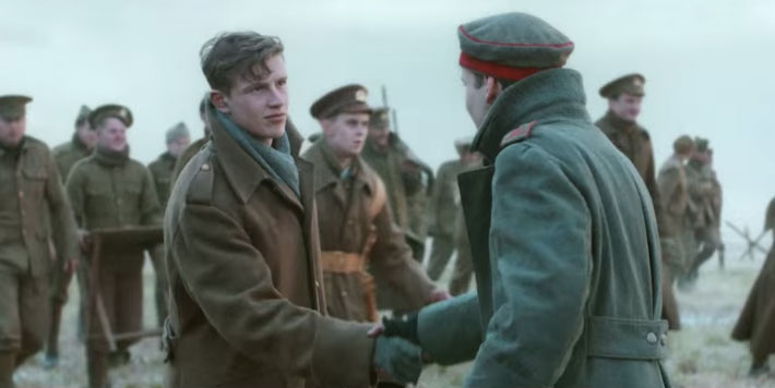 A Christmas Truce, Civil Religion, and Refugees