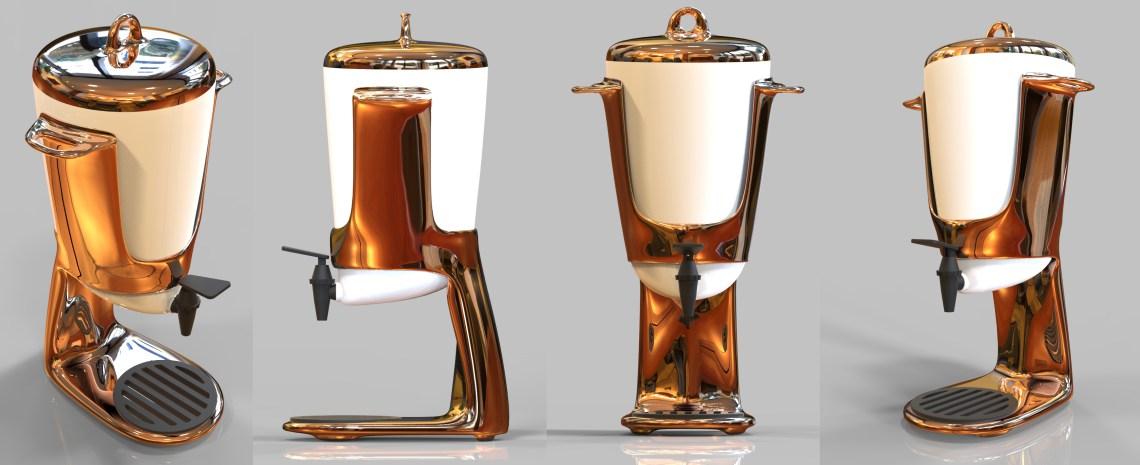 Copper Water Dispenser
