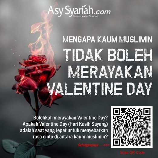Larangan merayakan valentine day