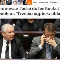 PiS chce nominować Tuska do Ice Bucket Challenge, ale jest jeden problem (naTemat)