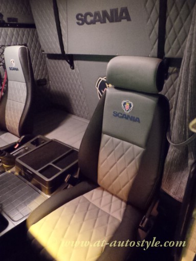Scania 143 Curtains AampT Autostyle
