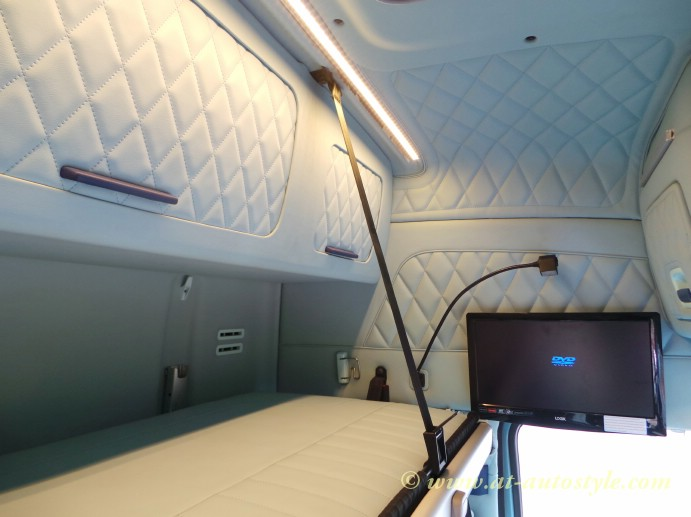 Volvo FH 12 Custom Design Leather Interior AampT Autostyle