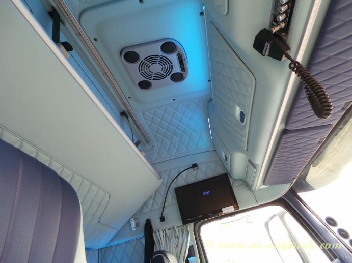 Volvo FH 12 Custom Design Leather Interior AampT Autostyle