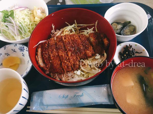 30番さん日替わりランチ ソースカツ丼