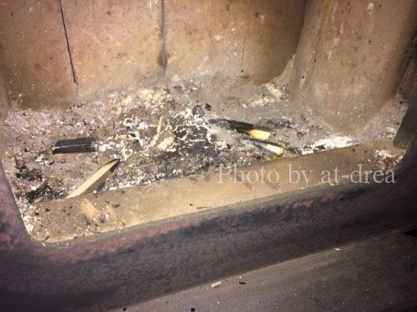 薪ストーブ 炉内