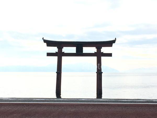 白髭神社(湖中鳥居)