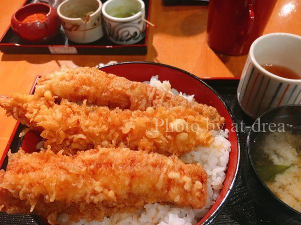 祇園ランチ 天周 ミックス天丼