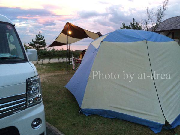 キャンプ 持ち物 テント