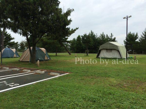 瀬戸内東予シーサイドキャンプ場 第1キャンプ場