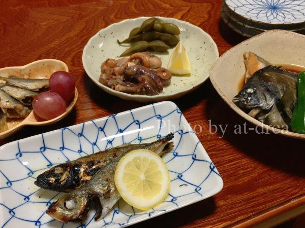 漁師民宿たにひさ 料理