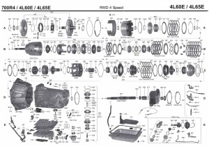 Transmission repair manuals 700R4 (4L60E, 4L65E
