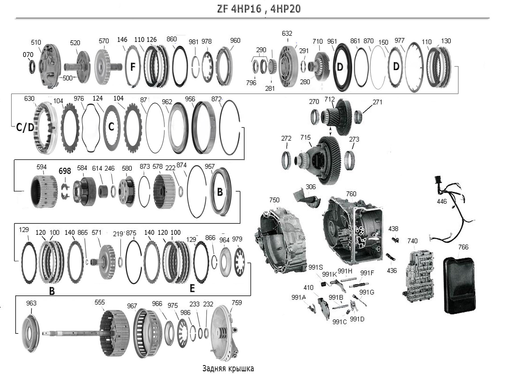 Transmission Repair Manuals Zf 4hp16