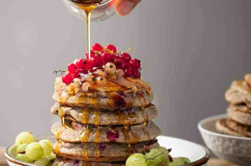 1-Bowl Buckwheat Berry Pancakes