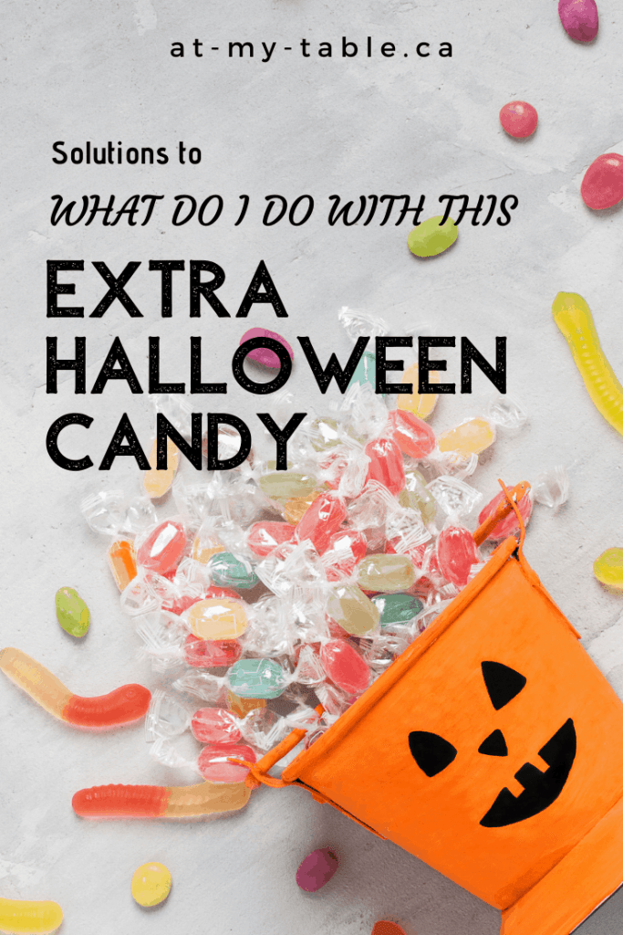 What to do with extra Halloween candy solutions