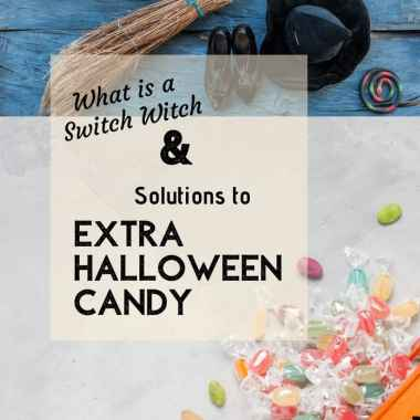 Soltion to extra halloween candy and the switch witch