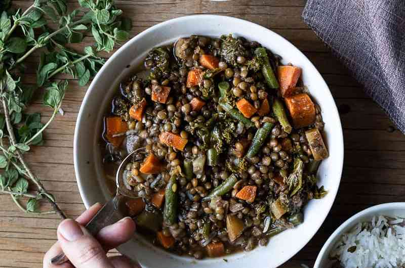 Easy Meal Prep Recipe, Comforting Lentil Stew.