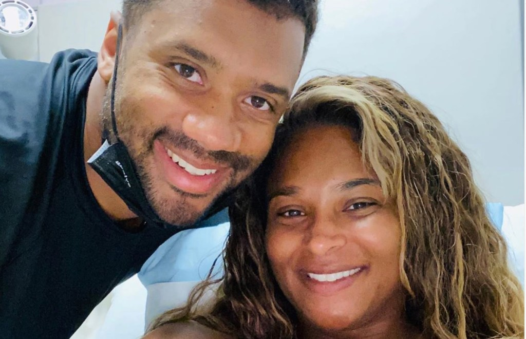 Russell Wilson and Ciara Introduce Their Infant Son for the First Time Just Before the Start of NFL Season